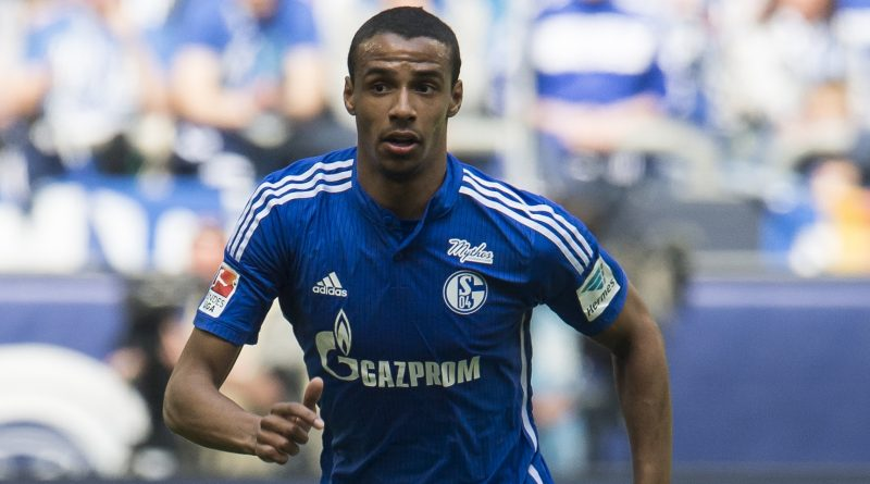 Joel Matip of Schalke 04 during the Bundesliga match between Schalke 04 and VfB Stuttgart on May 2, 2015 at the Veltins Arena in Gelsenkirchen, Germany.(Photo by VI Images via Getty Images)