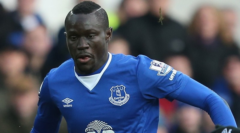 Oumar Niasse during the Barclays Premier League match between Everton and West Ham United at Goodison Park on March 5, 2016 in Liverpool, England.