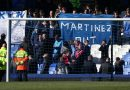 Everton FC fans stage series of Roberto Martinez protests at Goodison Park