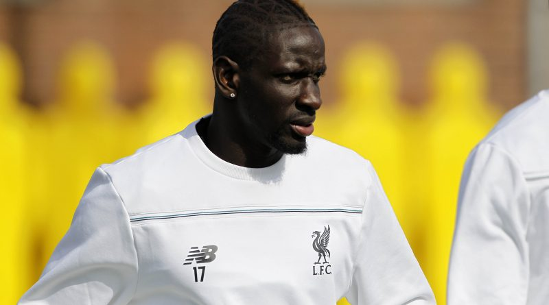 Liverpool FC. UEFA Cup - Training Session. Wednesday 13th April 2016. Melwood Training Ground, Deysbrook Lane, Liverpool. Mamadou Sakho.