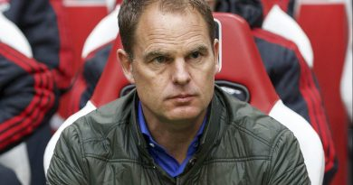 Frank de Boer 'keen' on taking Everton FC manager's role