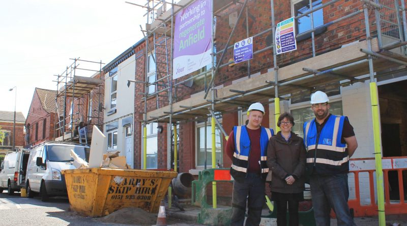 Anfield Village Phase 3 Penny Lane builders