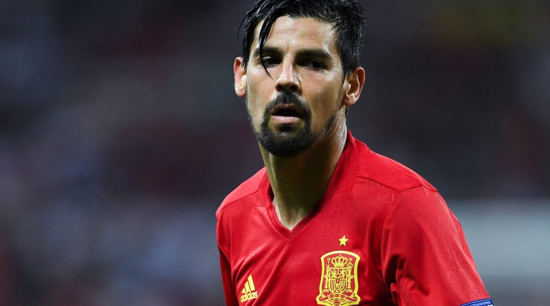 NICE, FRANCE - JUNE 17:  Manuel Agudo 'Nolito' of Spain looks on during the UEFA EURO 2016 Group D match between Spain and Turkey at Allianz Riviera Stadium on June 17, 2016 in Nice, France.  (Photo by David Ramos/Getty Images)