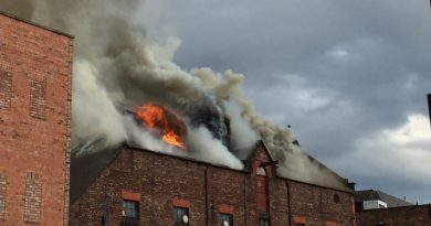 Fire engulfs Ropewalks area of Liverpool city centre
