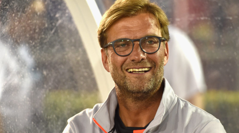 PASADENA, CA - JULY 27:  Jurgen Klopp manager of Liverpool during the International Champions Cup match between Chelsea and Liverpool at Rose Bowl on July 27, 2016 in Pasadena, California.  (Photo by Andrew Powell/Liverpool FC via Getty Images)