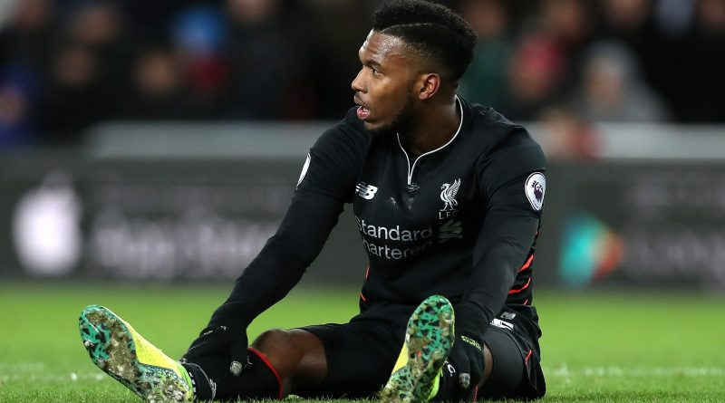 'Injured' Daniel Sturridge may have played last game for Liverpool
