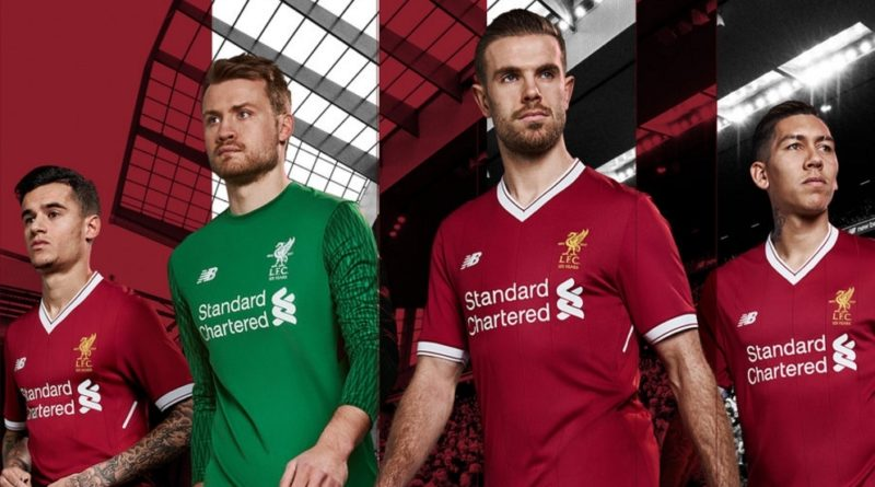 4308aa96d Liverpool have revealed a new home kit for their 125th anniversary season.