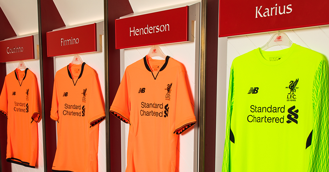 5ded22073 Both the third kits and the accompanying training wear are available to  purchase both in Liverpool s officials stores and through the club s online  store ...