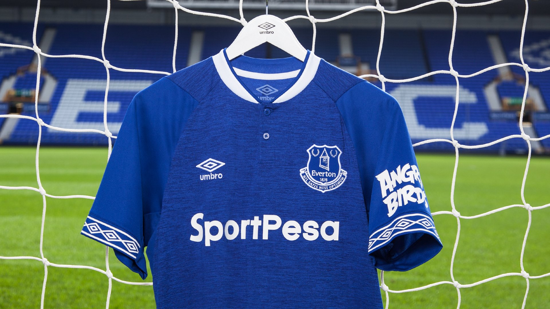 buy popular 453a2 26e84 Everton unveil new 2018/19 home kit – Click Liverpool