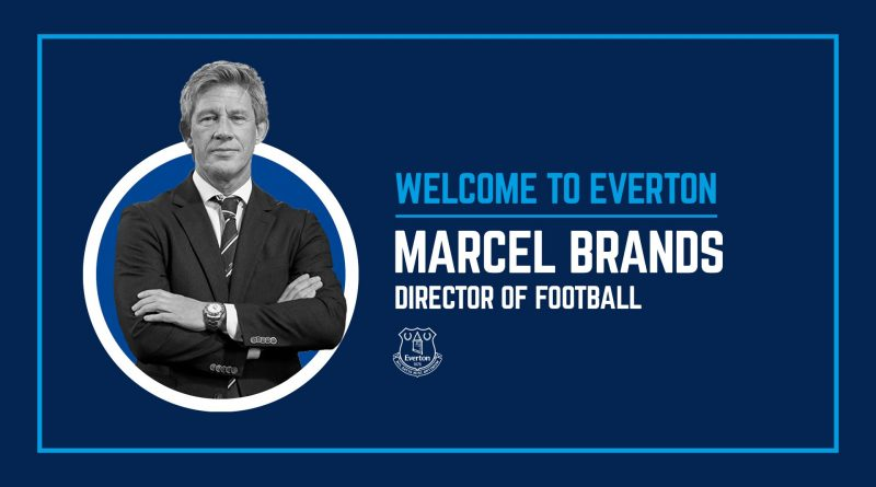 Everton appoint Marcel Brands from PSV Eindhoven as director of football