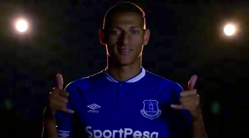 Everton seal $70 million Richarlison deal
