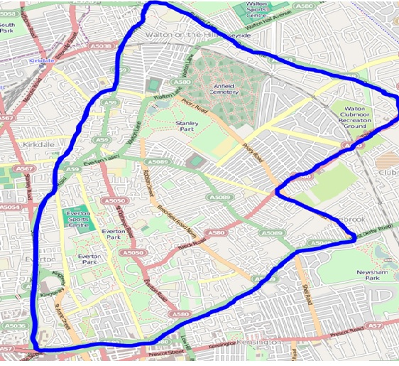 Police Enforce Anfield Derby Dispersal Zone Click Liverpool